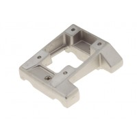Inclined AL engine mount 92 x 28 mm drilled