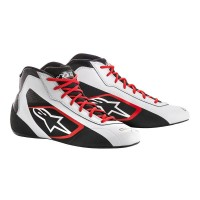 TECH-1 K START SHOE WHITE ALPINESTARS
