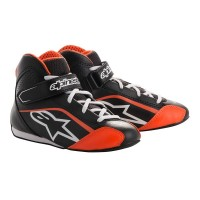 BLACK ORANGE TECH-1 KS YOUTH SHOE ALPINESTARS