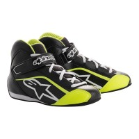 BLACK FLUO YELLOW TECH-1 KS YOUTH SHOE ALPINESTARS