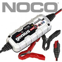 Noco G1100EU Genius Smart Battery Charger, 6 V / 12 V, 1.1 A,