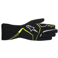 BLACK FLUO YELLOW ALPINESTARS TECH 1-K RACE GLOVE