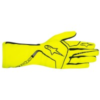 YELLOW FLUO ALPINESTARS TECH 1-K RACE GLOVE