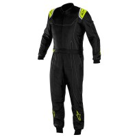 2018 MX9 ALPINESTARS SUIT BLACK FLUO YELLOW BABY