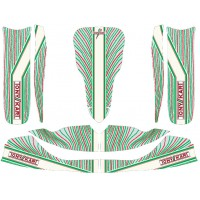 M6 2015  Bodyworks' Stickers Tony Kart Kit